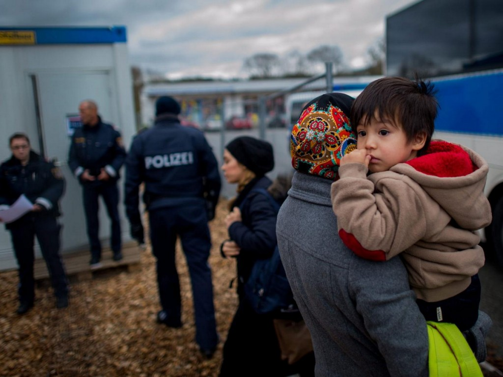 Refugees-Austria-Germany